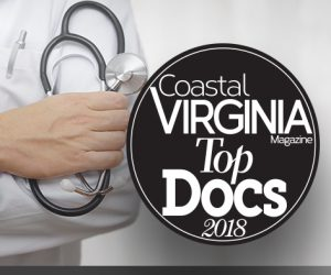 Coastal Virginia Magazine - Top Docs 2018